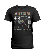 Autism It's NOT A DISABILITY Ladies T-Shirt thumbnail