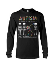 Autism It's NOT A DISABILITY Long Sleeve Tee thumbnail