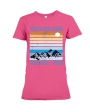 Torrs Del Paine Patagonia Chile Premium Fit Ladies Tee front