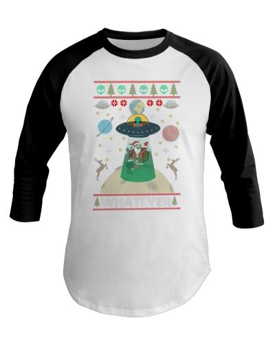 Santa And Alien