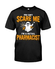 Retail Pharmacist Halloween  Classic T-Shirt front