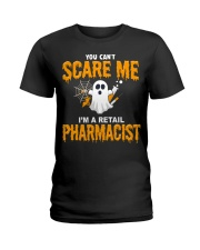 Retail Pharmacist Halloween  Ladies T-Shirt thumbnail