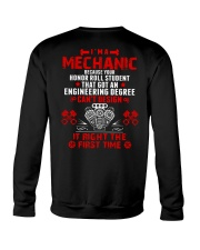 I'm Mechanic Because Your Honor Roll Student  Crewneck Sweatshirt thumbnail