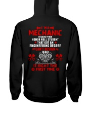 I'm Mechanic Because Your Honor Roll Student  Hooded Sweatshirt thumbnail