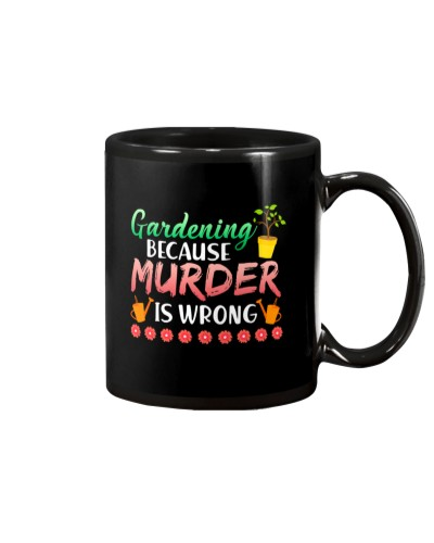 Gardening Because Murder Is Wrong