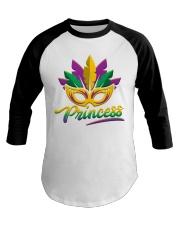 MARDI GRAS PRINCESS Baseball Tee thumbnail