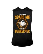 You Can't Scare Me I'm Beekeeper Sleeveless Tee thumbnail
