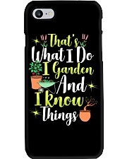I GARDEN AND I KNOW THINGS Phone Case thumbnail