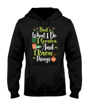 I GARDEN AND I KNOW THINGS Hooded Sweatshirt thumbnail