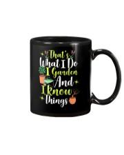 I GARDEN AND I KNOW THINGS Mug thumbnail