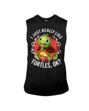 I LIKE TURTLES Sleeveless Tee thumbnail