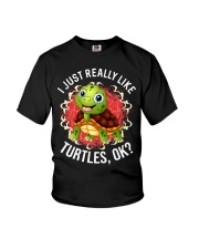 I LIKE TURTLES Youth T-Shirt thumbnail