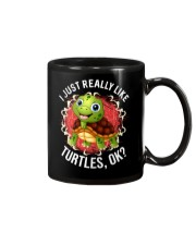 I LIKE TURTLES Mug thumbnail