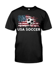 USA SOCCER TEAM Classic T-Shirt front
