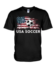 USA SOCCER TEAM V-Neck T-Shirt thumbnail
