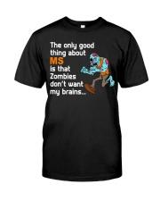 Funny Multiple Sclerosis Halloween Premium Fit Mens Tee thumbnail
