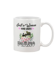 WOMAN WHO LOVES PIANO Mug thumbnail