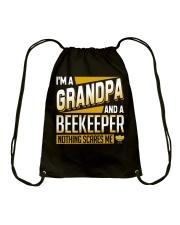 Beekeeper Grandpa Father's day Drawstring Bag thumbnail