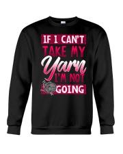 Knitting -My yarn Crewneck Sweatshirt thumbnail