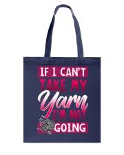 Knitting -My yarn Tote Bag thumbnail