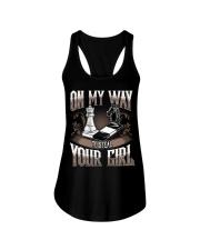 Funny Chess T-Shirt  Ladies Flowy Tank thumbnail