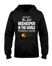 Best Beekeeper In The World Hooded Sweatshirt thumbnail