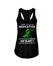 Kidney Disease Funny Ladies Flowy Tank thumbnail