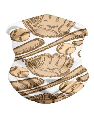 Baseball Ball Bat And Glove