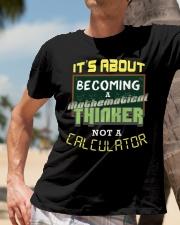 Mathematical Thinker Classic T-Shirt lifestyle-mens-crewneck-front-11