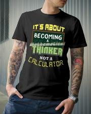 Mathematical Thinker Classic T-Shirt lifestyle-mens-crewneck-front-6