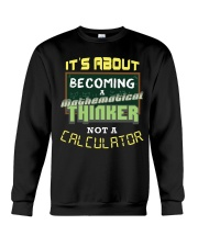 Mathematical Thinker Crewneck Sweatshirt thumbnail