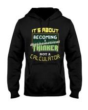 Mathematical Thinker Hooded Sweatshirt thumbnail