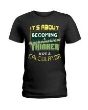 Mathematical Thinker Ladies T-Shirt thumbnail
