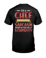 Chef Sarcasm Classic T-Shirt back