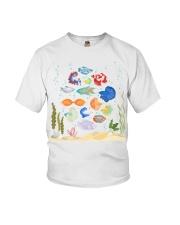 Aquarium fishes betta gourami Youth T-Shirt thumbnail