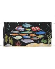 Aquarium fishes betta gourami Cloth face mask thumbnail