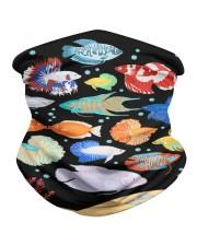 Aquarium fishes betta gourami Neck Gaiter thumbnail