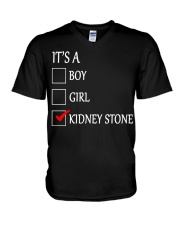 Kidney Stone Funny V-Neck T-Shirt thumbnail
