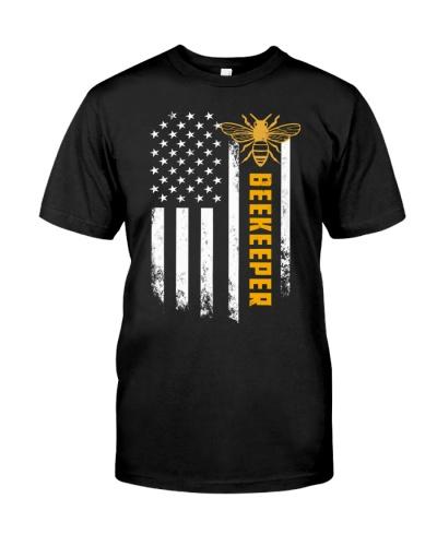 Beekeeper American Flag