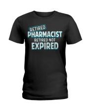 Retired Pharmacist Ladies T-Shirt thumbnail