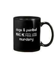 DOGS AND PAINTBALL Mug thumbnail