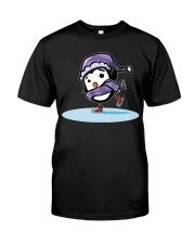 Skater Penguin Classic T-Shirt front