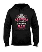 BEST GRANDMA WAS BORN IN MAY Hooded Sweatshirt thumbnail