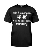 CATS AND ELEPHANTS Premium Fit Mens Tee thumbnail
