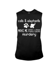 CATS AND ELEPHANTS Sleeveless Tee thumbnail