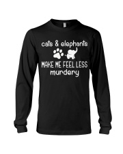 CATS AND ELEPHANTS Long Sleeve Tee thumbnail