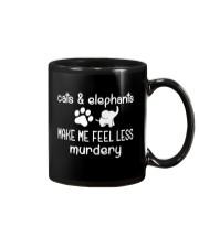CATS AND ELEPHANTS Mug thumbnail