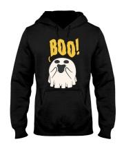 Funny BOO ghost  Hooded Sweatshirt thumbnail