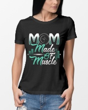 Mom Made Of Muscle Premium Fit Ladies Tee lifestyle-women-crewneck-front-10