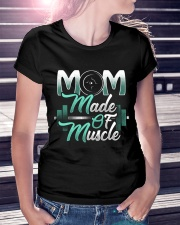 Mom Made Of Muscle Premium Fit Ladies Tee lifestyle-women-crewneck-front-7